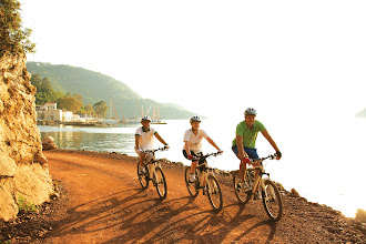 Photo: Go for a guided bike ride...  You can do this in all of our beachclubs. This photo was taken in Adakoy, Turkey  http://www.neilson.co.uk/activities/mountain-biking