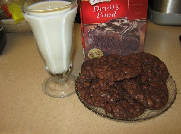 Butter Recipe Dark Chocolate Cake Mix Cookies