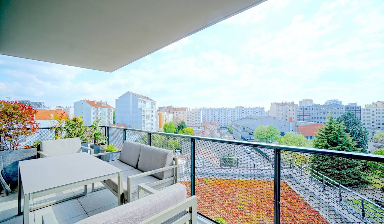 Appartement avec terrasse Villeurbanne
