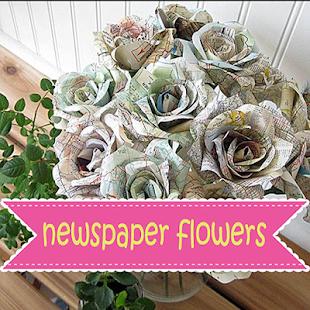 Newspaper flowers google play ilovalari newspaper flowers craft how to make newspaper flower pots newspaper flower bouquet newspaper flower step by step newspaper flowers diy mightylinksfo