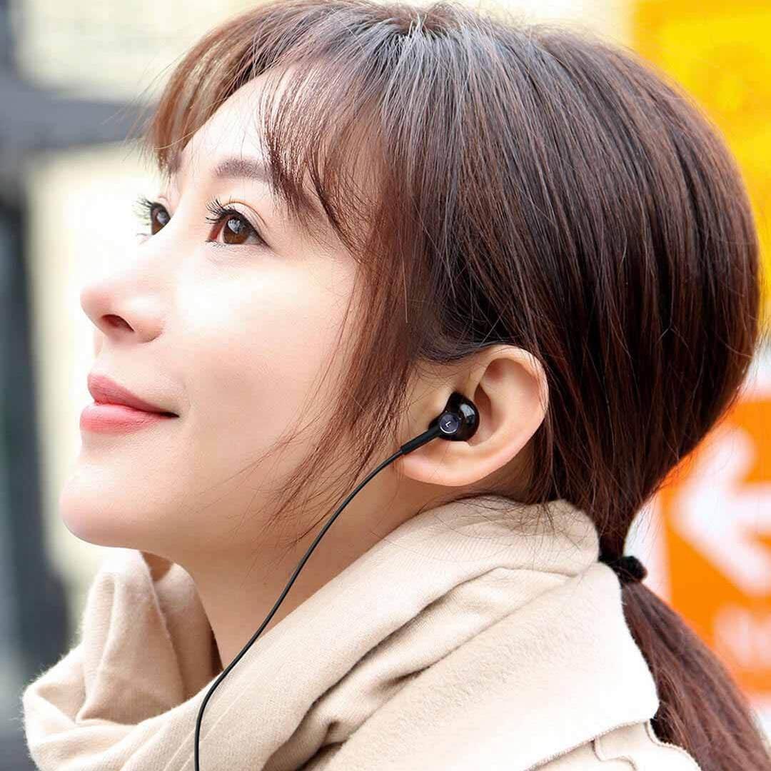 Tai nghe gốm Xiaomi Mi Dual Unit Half Ear Type-C
