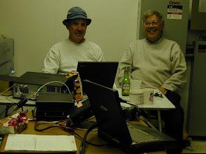 Photo: W4OV Bruce,, K0IP John from DN43 VHF contest 2007  w4ov  k0ip