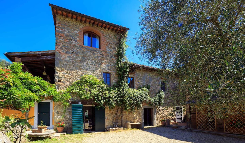 Villa avec jardin et terrasse Loro Ciuffenna