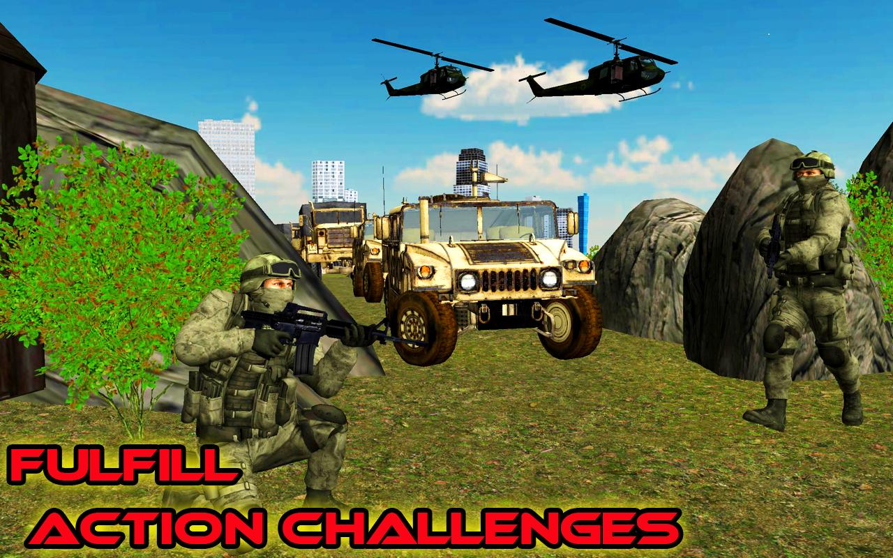 Shoot Hunter 3D: Commando Missions Hostage Rescue- screenshot