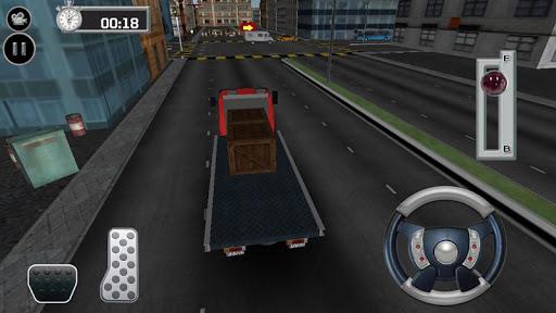 トラック運転4X4