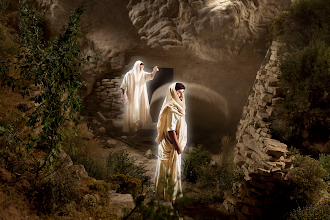 Photo: Jesus Is Laid in a Tomb. 04