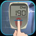 Cholesterol detector prank icon