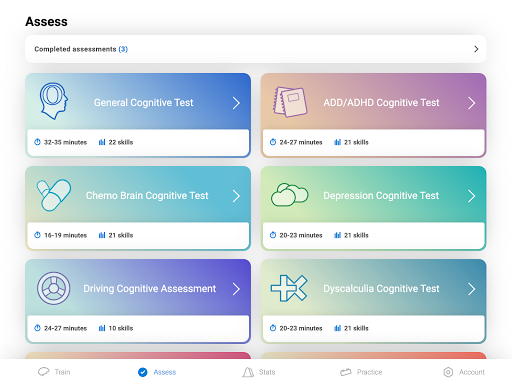 CogniFit Brain Fitness 4.1.3 screenshots 12