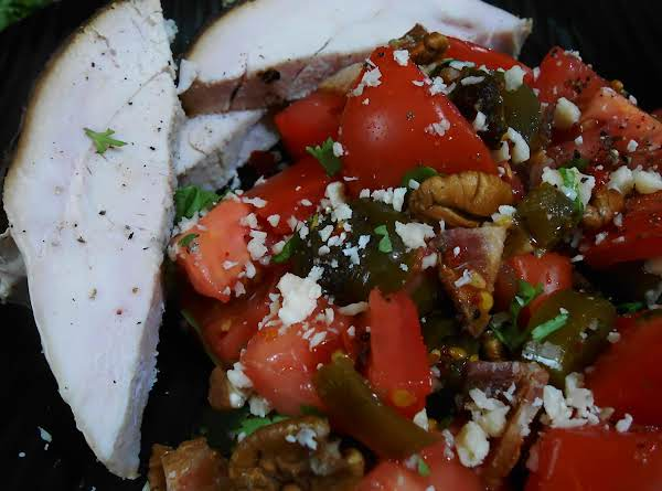 Tex Mex Fresh Tomato Salad
