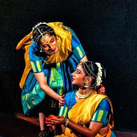 For her eyes only! by Hariharan Venkatakrishnan - People Portraits of Women (  )