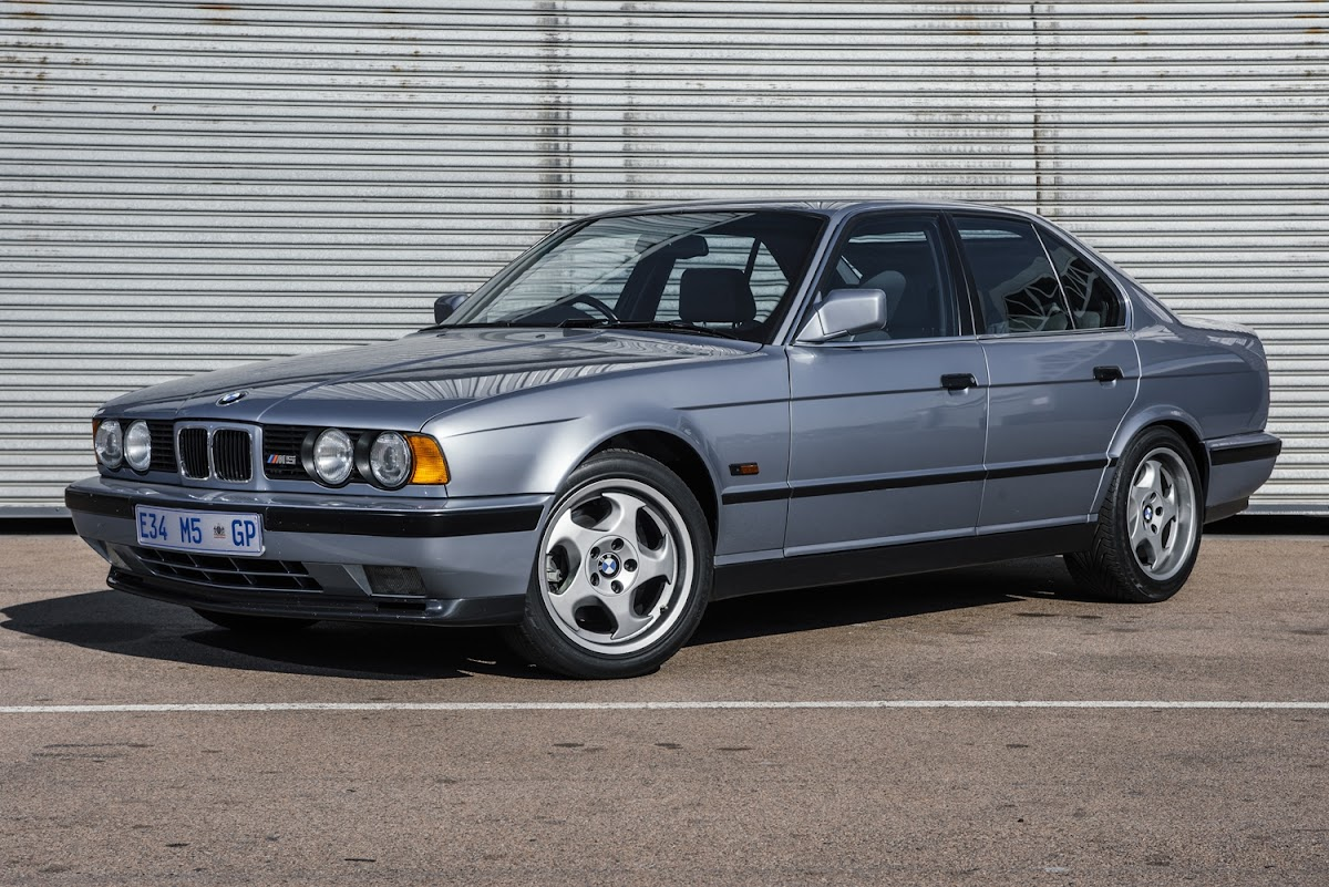 In Pictures The Evolution Of The Bmw M5