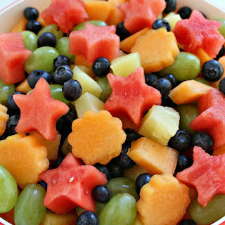 Simple 5 Ingredient Fruit Salad