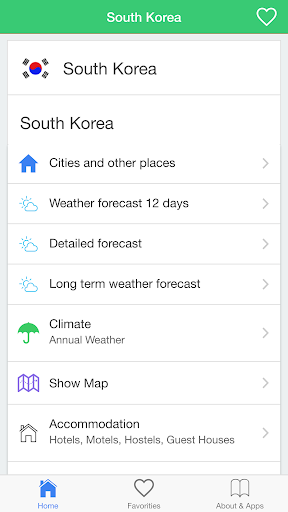 South Korea weather guide