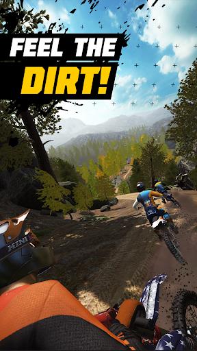 Dirt Bike Unchained apkpoly screenshots 1