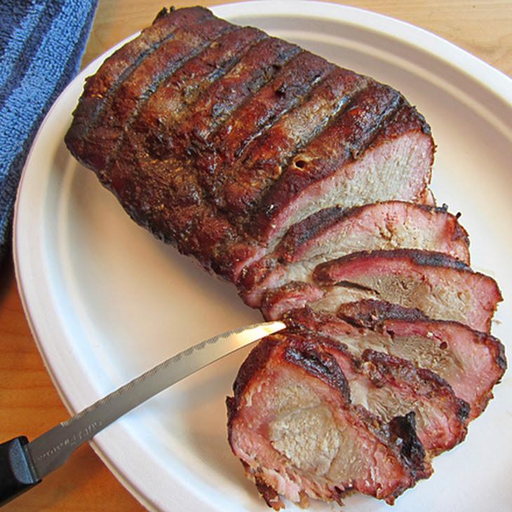 Honey Glazed Mesquite Smoked Pork Tenderloin Recipe