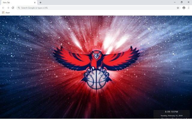 Atlanta Hawks New Tab & Wallpapers Collection