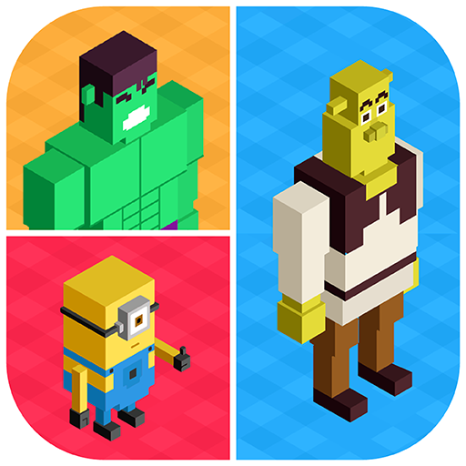 Guess Blocky Character Quiz 益智 App LOGO-APP開箱王