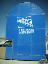 Photo: you really can send items to and from Burning Man