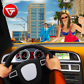 City Taxi Driving Cab 2018: Crazy Car Rush Games