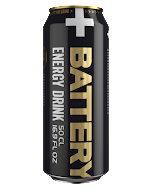 Battery Energi Drink 0,5 l - inkl. pant