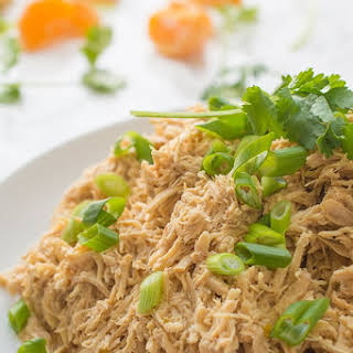 Asian Citrus Slow Cooker Shredded Chicken.