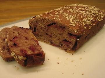 Strawberry Oatmeal Bread Recipe