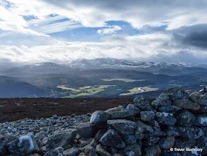 Photo: Lochnagar from the Summit Cairn on Geallaig