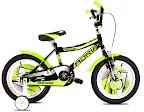 "Bicikl 12"" Rocker crno-zeleni"
