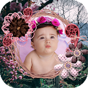 Beautiful Garden Frame Photo Frame Application icon
