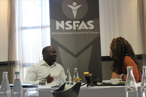 NSFAS CEO Steven Zwane. Picture: Supplied by NSFAS / via TIMESLIVE