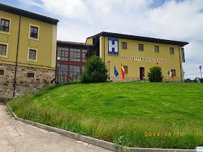 Photo: Villafranca Montes de Oca- le gite est une dépendance de l'hôtel