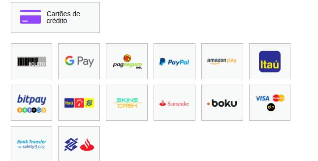 pagamento via Bitpay
