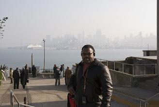 Photo: Kevin on Alcatraz