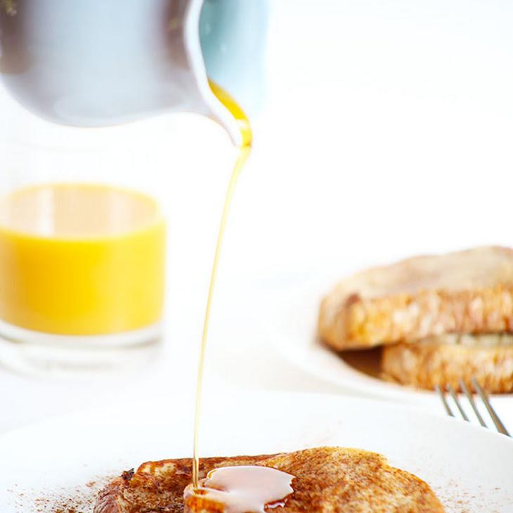 Healthy Vegan Cinnamon French Toast