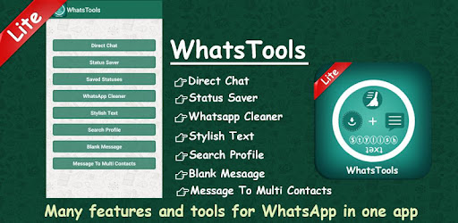 Tools for whatsapp: Status saver - Chat - Cleaner - Apps on