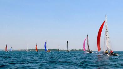 Photo: Water Rats Regatta - F18's head downwind
