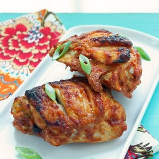 Tandoori Style Chicken Thighs – Low Carb and Gluten Free.