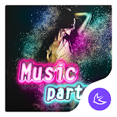 Music-APUS Launcher theme