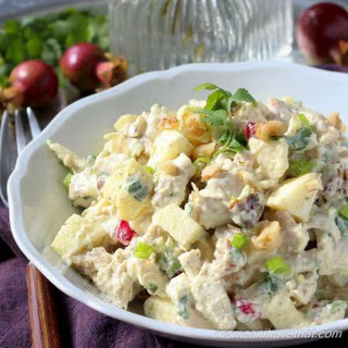 Low Carb Curried Chicken Salad