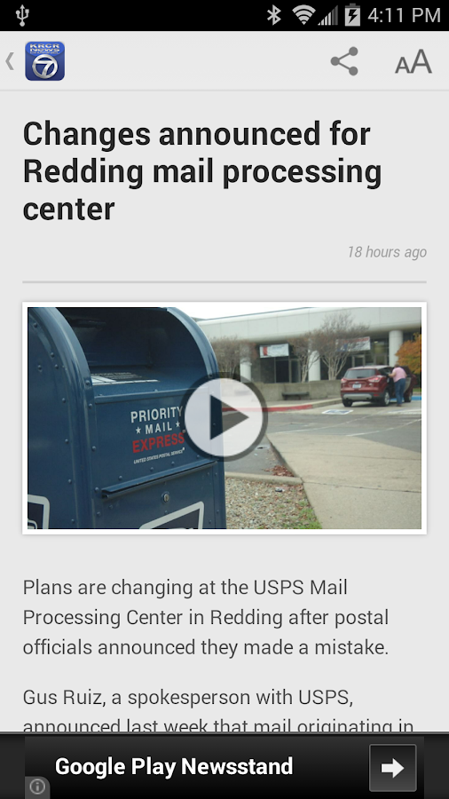 KRCR News Channel 7- screenshot