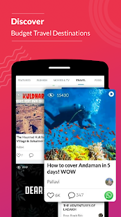App Trell: Videos On Travel, Recipes & Lifestyle. APK for Windows Phone