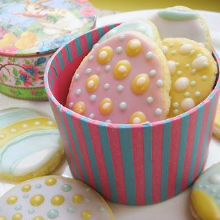 """Easter """"egg"""" Sugar Cookies"""