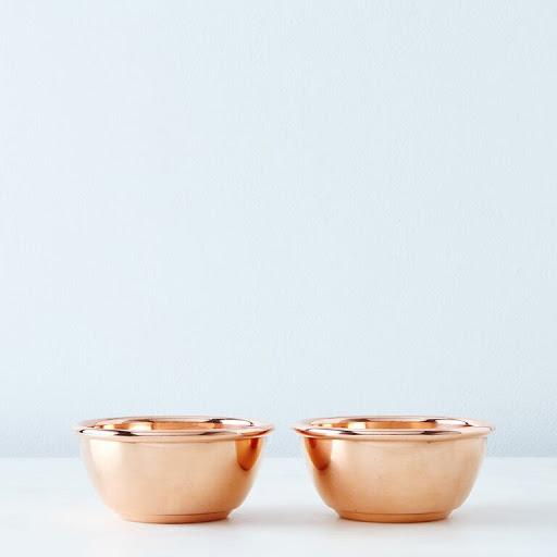 Single Serving Copper Bowls
