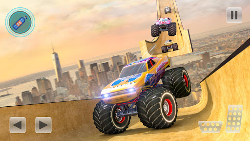 Mega Ramp Monster Truck Stunts Racer 1.0 screenshots 1