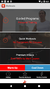 You Are Your Own Gym by Mark Lauren Apk 2