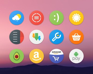 Pixel Icon Pack-Nougat Free UI screenshot 5