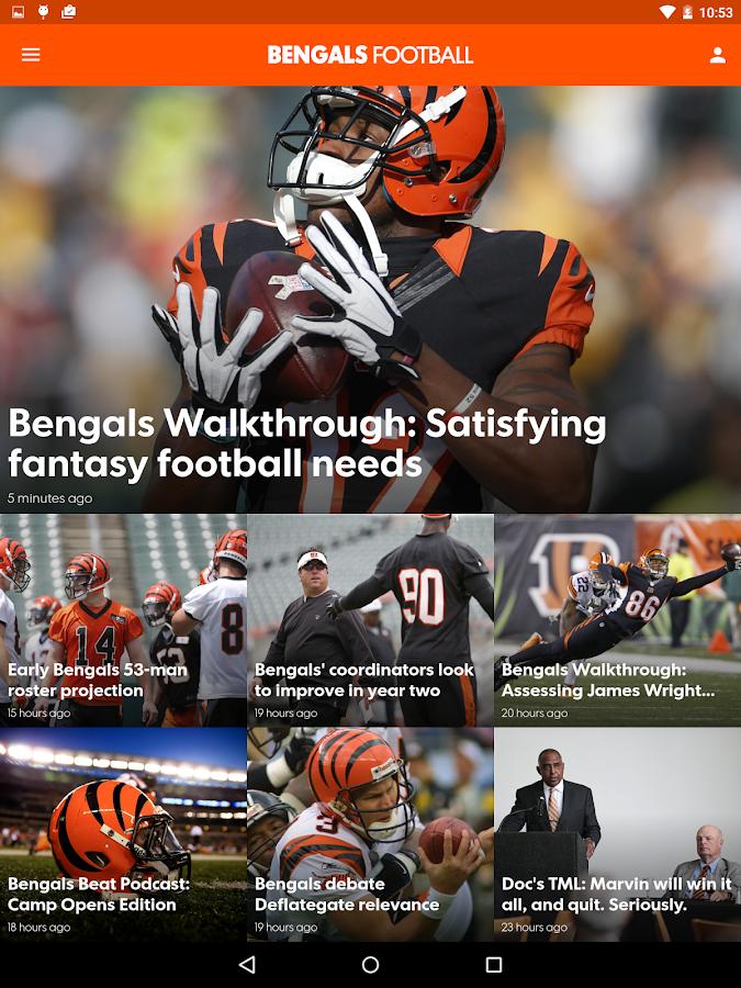 Cincinnati Bengals- screenshot