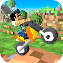 Cube Motocross: Bike Stunts 3D icon