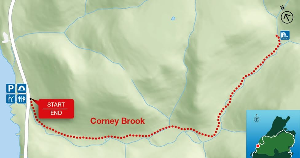 Corney Brook, Park Narodowy Cape Breton Highlands