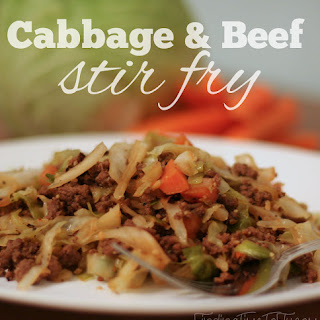 Cabbage and Beef Stir Fry Recipe